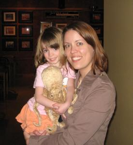 Samantha, Clams, and me